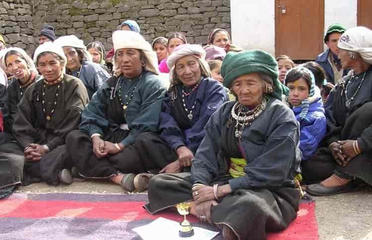 Bhotia Women