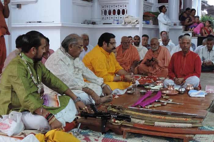 Dashera Shastra Pujan