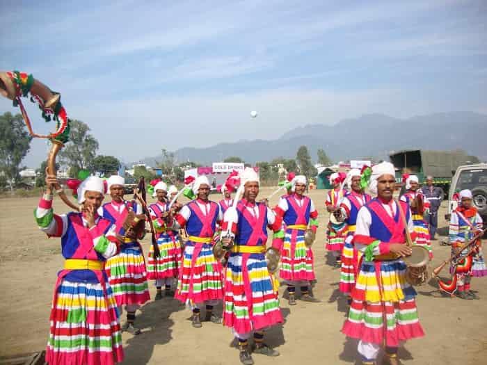 Kumaoni People in culture dress