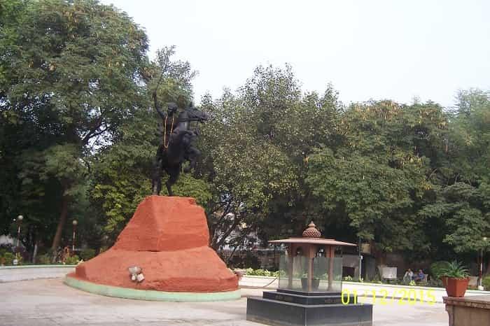 Samadhi of Rani Lakshmi Bai