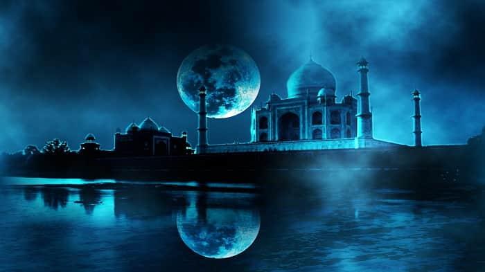 Taj Mahal at Night