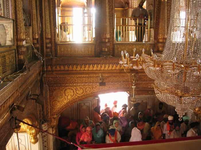 Inside Golde Temple